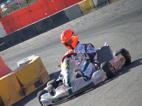Michael Schumacher, avid Karter