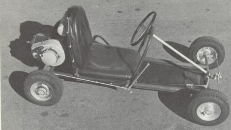 Art Ingles' first Go Kart