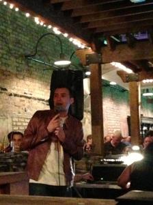 Will Buxton: SPEED Pit Reporter, Journalist, Tweet-Up organizer, decent karaoke singer