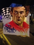 Senna painting downtown