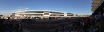 Main grandstand panorama, post race
