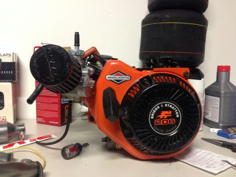 The Briggs & Stratton Racing LO206